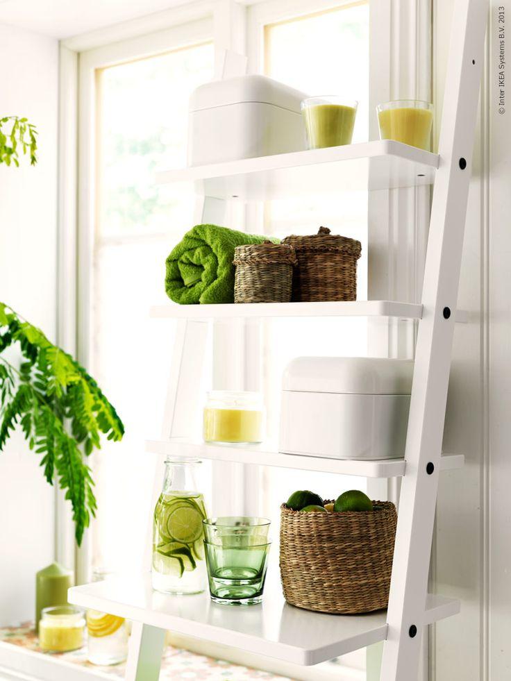 hj lmaren hylla rymmer det mesta f r ditt hemmaspa badrum pinterest. Black Bedroom Furniture Sets. Home Design Ideas