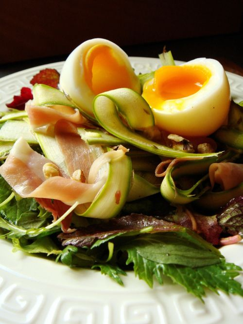 Serrano Ham, Egg and Asparagus Salad | Edible Ideas | Pinterest