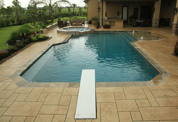 Swimming Pool Design Shape Contemporary Swimming Pools Design 51 The L Shape Towards The Patio