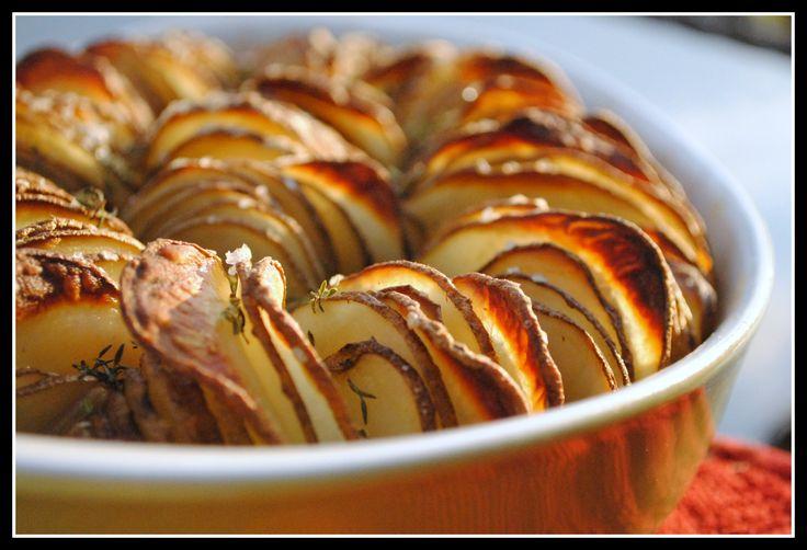 Crispy Potato Roast | On the side | Pinterest