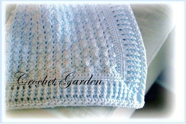 Afghan Of The Sandman Crochet Pattern- Perfect for baby boys