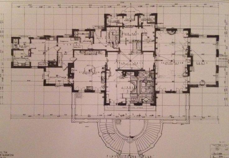 First floor calhoun thornwell house atlanta pinterest for Atlanta house plans