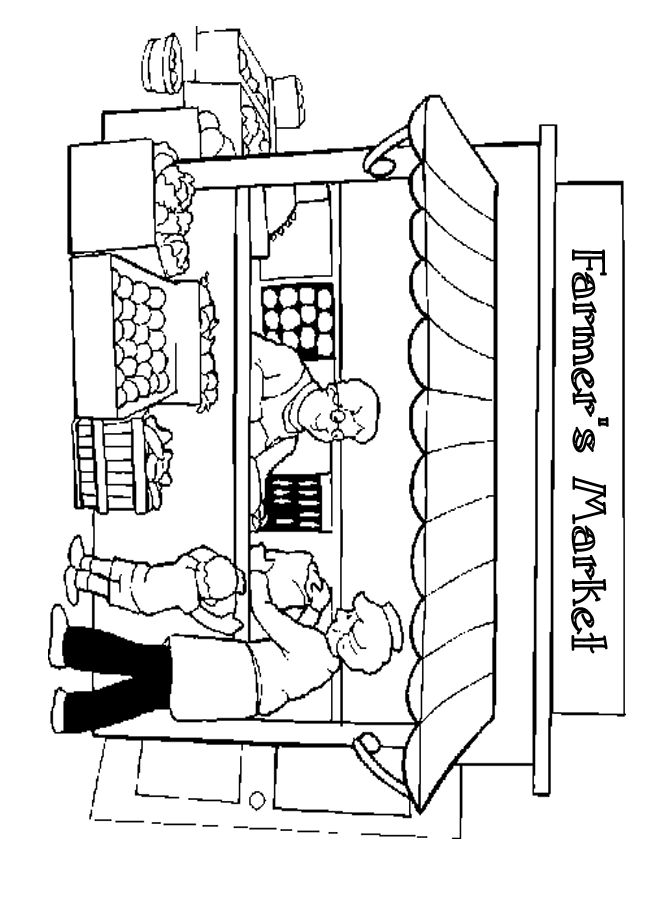 Awning Business Show Market Stall Inspiration Pinterest Market Coloring Pages