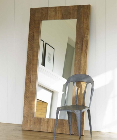 wood clean lines floor length mirrors pinterest