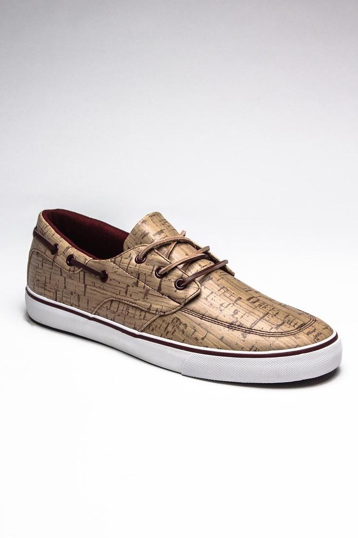 Cork & Burgundy Men s Shoes