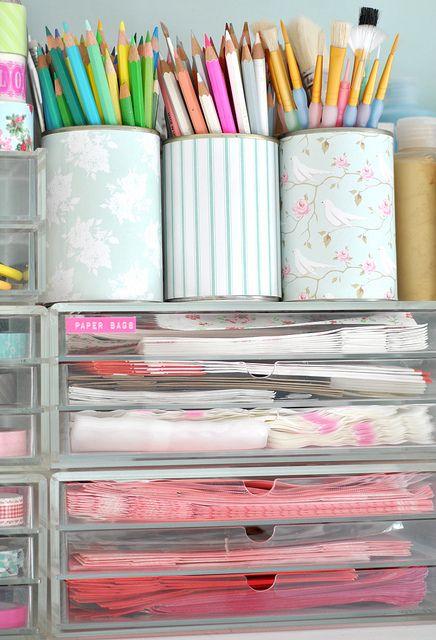 101 ways to get pretty organized