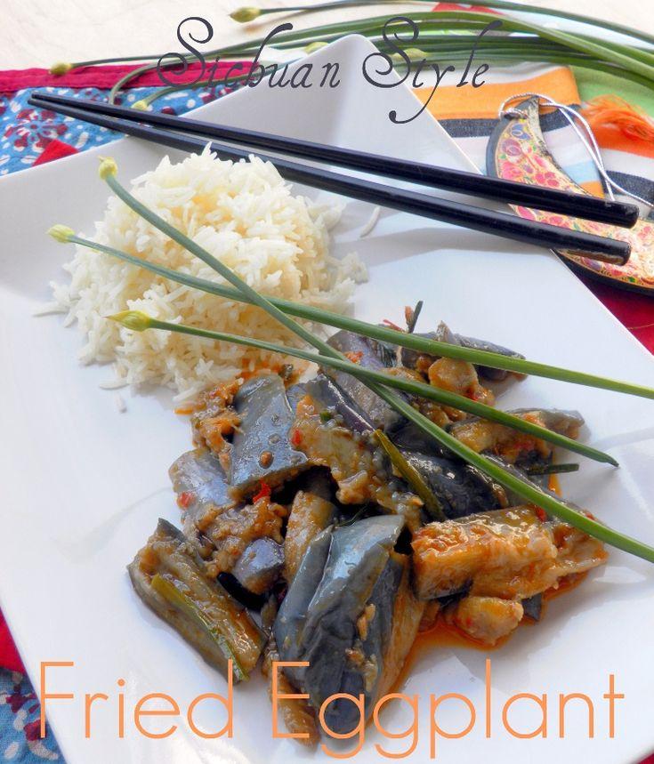 Sichuan eggplant-01 | Sides | Pinterest