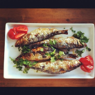 Portuguese style grilled sardines | Food & Drink | Pinterest