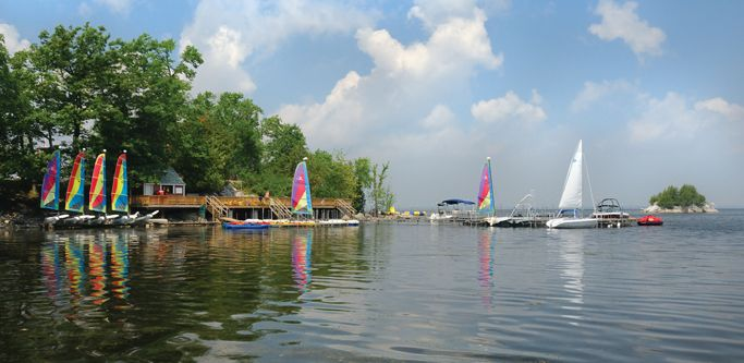 Top quality lake and water sports. All ages. All abilities. -- Tyler Place Family Resort