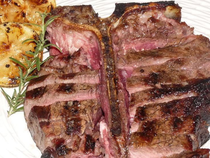 BISTECCA ALLA FIORENTINA; (alternate and more interesting recipe; http ...