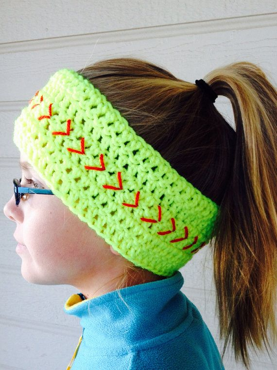 Free Crochet Pattern For Softball Headband : Pinterest: Discover and save creative ideas