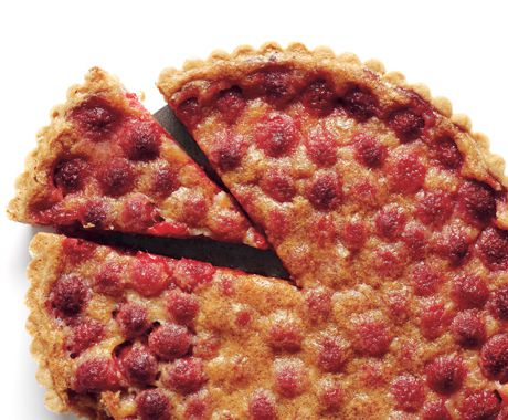 Brown Butter Raspberry Tart | Recipe