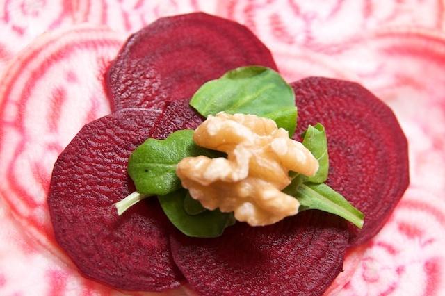 Carpaccio of Chioggia Beets | Salads | Pinterest