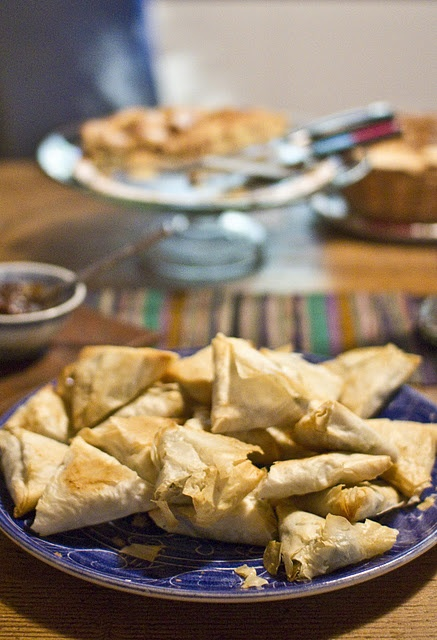 Baked Spinach Samosas | Appertizers/snacks/dips | Pinterest