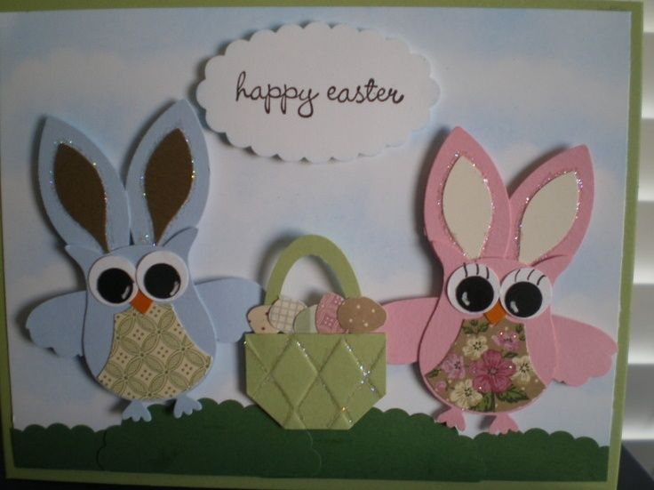 Stampin Up! Owl Punch Easter Punch Art Stampin' Up!