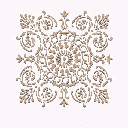 Stencils For Kitchen Tiles Islamic Design Joy Studio