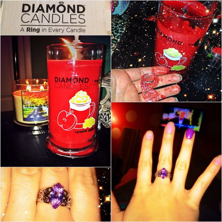 Diamond candle want this scent!!