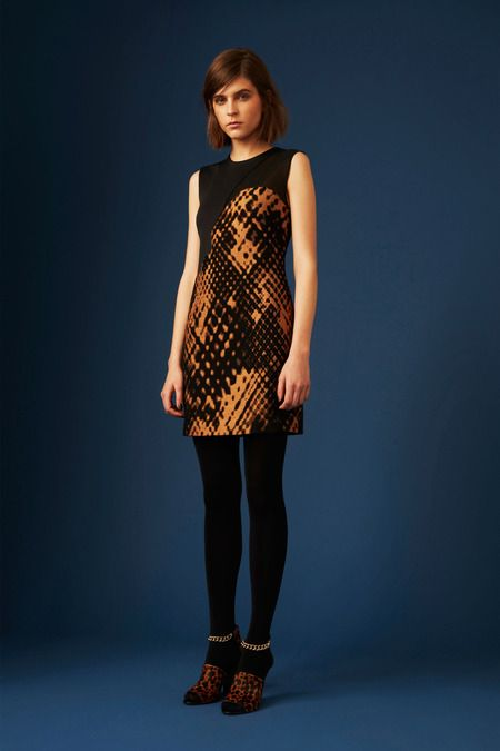 Not exactly an animal print. 3.1 Phillip Lim | Pre-Fall 2014 Collection | Style.com