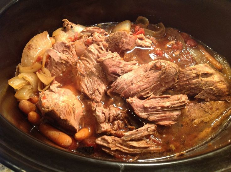 Paleo Balsamic and Onion Pot Roast | Clean eating | Pinterest