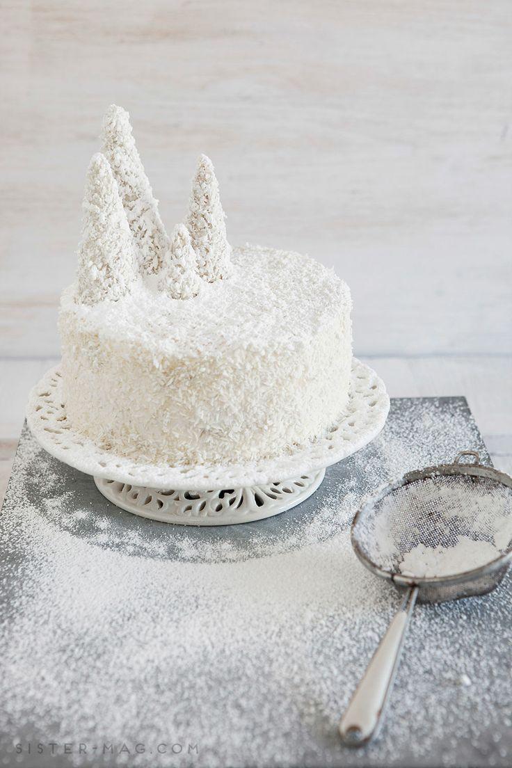 Ice Cream Cone Cake / Tannenbaumkuchen in #sisterMAGXMAS Kuchenwerkstatt von @Claudia Park Park Park Park Gödke e #cake #dessert #food