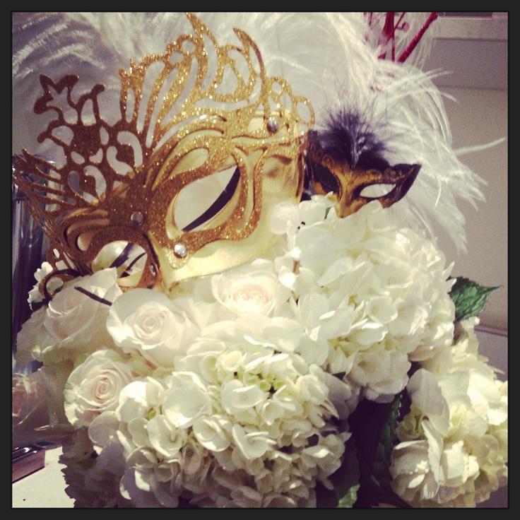 Centerpiece Masquerade Ball Pinterest