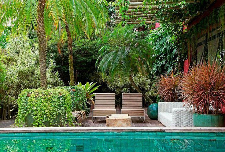 Jardim da casa de praia Gardening Pinterest