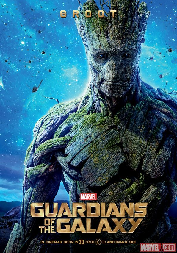 """Groot international poster for Marvel's """"Guardians of the Galaxy"""""""