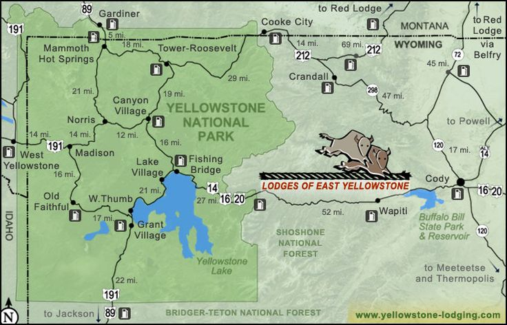 East Yellowstone Scenic Byways Trips Places We Should Go