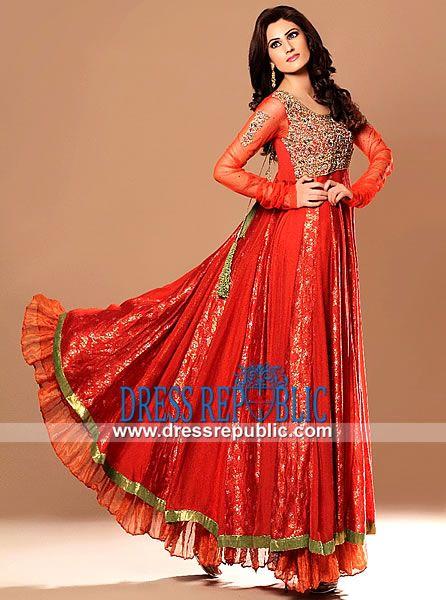 Long Anarkali Dresses by www.dressrepublic.com