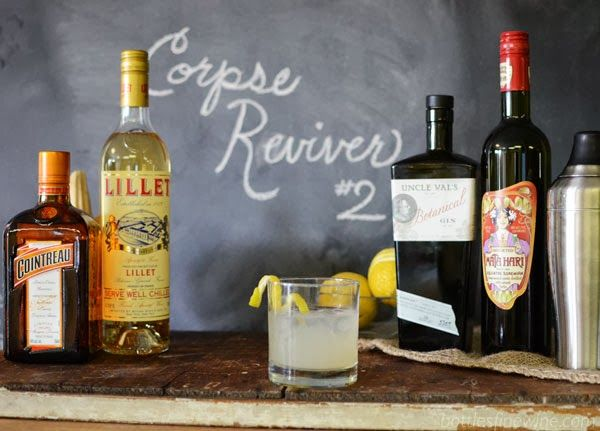 Halloween Cocktail Idea - Corpse Reviver #2