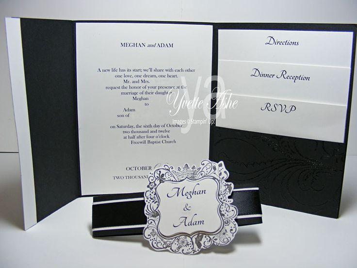 Wedding Invitation Tri Fold Inside