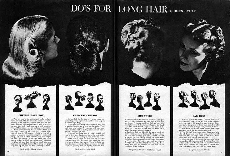 1940s hairstyles men : 1940 hair styles for long hair. 2014 photo shoot Pinterest