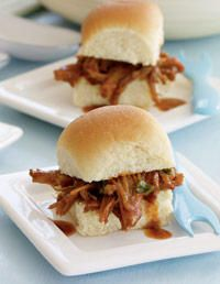 Slow Cooker Recipe...South Carolina BBQ Pork Sliders..Yummy