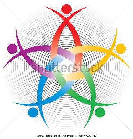 stock vector : HR colorful symbol | Celtic | Pinterest