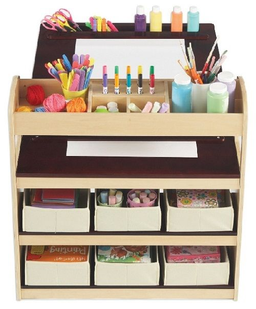 art and craft table for kids children art pinterest. Black Bedroom Furniture Sets. Home Design Ideas