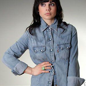 Vintage Eighties Levi\'s denim shirt