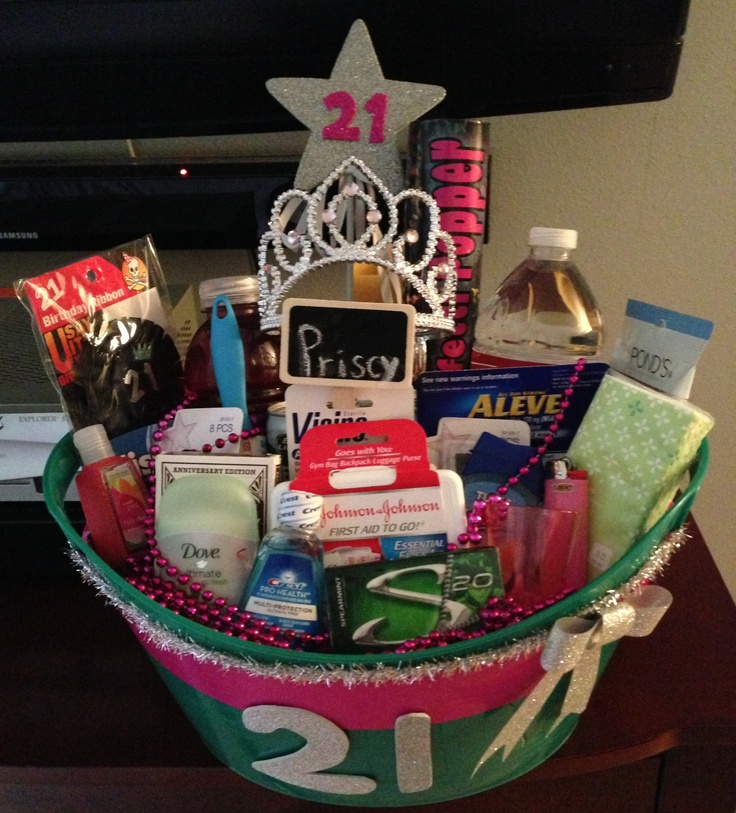 Survival kit 21st birthday wishes