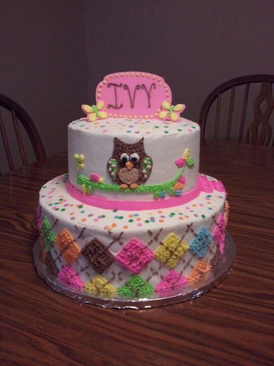 B Day Cake Decoration : 1St b day cake Bday ideas Pinterest