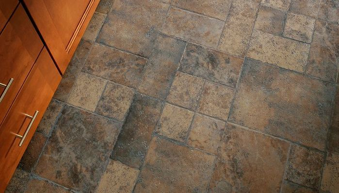 You Can Create A Ceramic Tile Look In Your Kitchen With A More