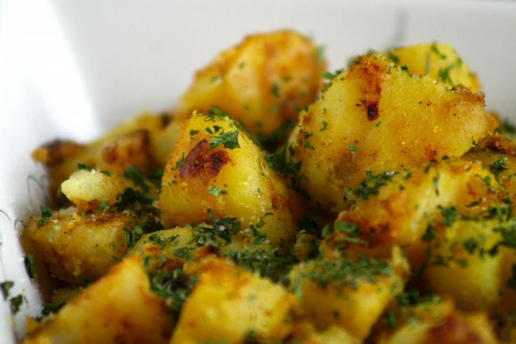 Indian Spiced Potatoes | Food | Pinterest