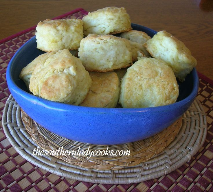 The Southern Lady Cooks: Butter Dips - small, flaky, buttery biscuits ...