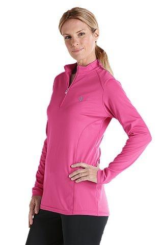 New Spring 2013 @Coolibar UPF 50+ Sunwear: Quarter Zip Long Sleeve