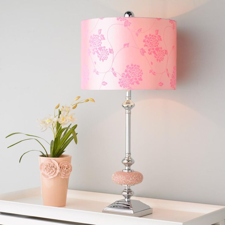 Pretty in pink mosaic table lamp pretty in pink pinterest