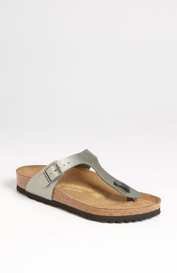 Birkenstock Gizeh Birko-Flor Thong | Nordstrom I know they aren't the ...