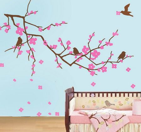 cherry blossom wall mural baby pinterest pics photos wall mural cherry blossom flower bouquet on
