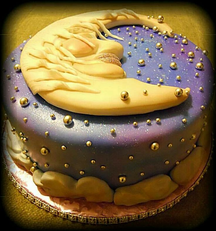 Happy Full Moon Cake