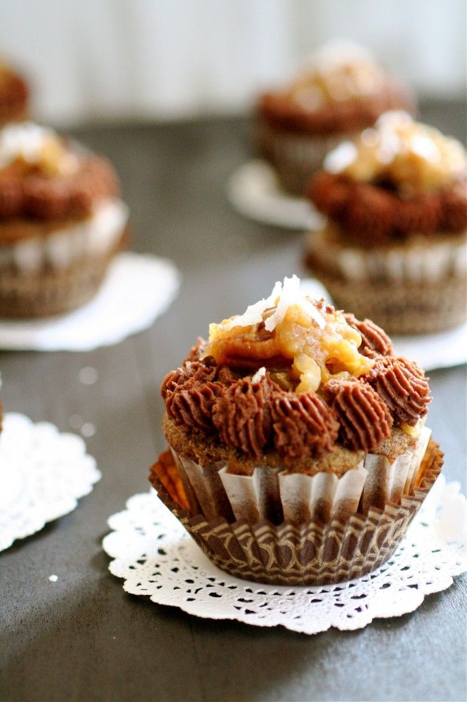German Chocolate Cupcakes | Cupcakes and Cake Pops | Pinterest