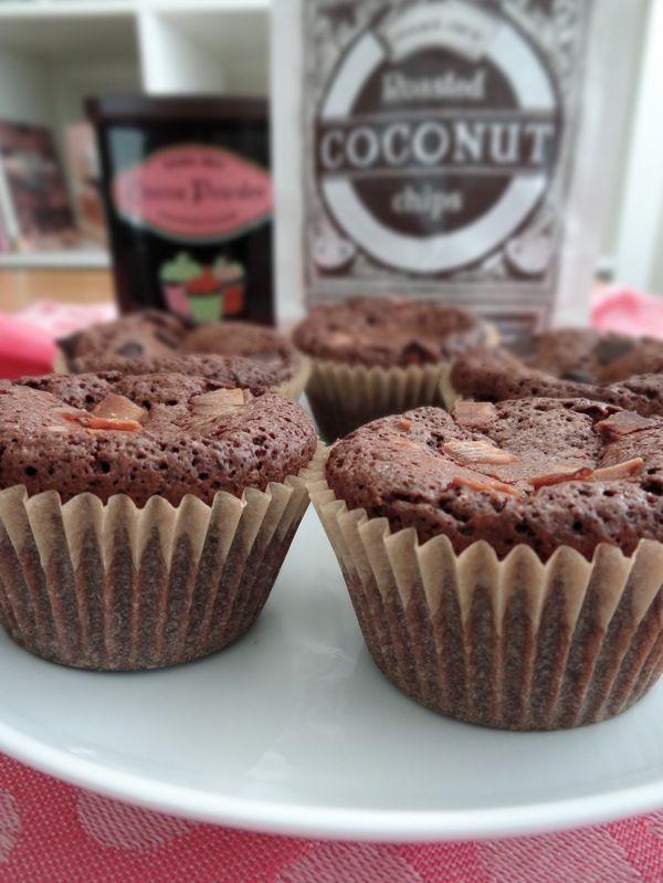 Gluten Free Dark Chocolate Muffins   Food-Sweet Stuff   Pinterest