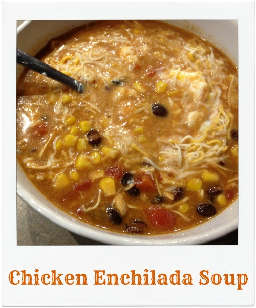Brooke: Not On A Diet's Chicken Enchilada Soup