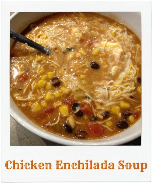 Brooke: Not On A Diet's Chicken Enchilada Soup
